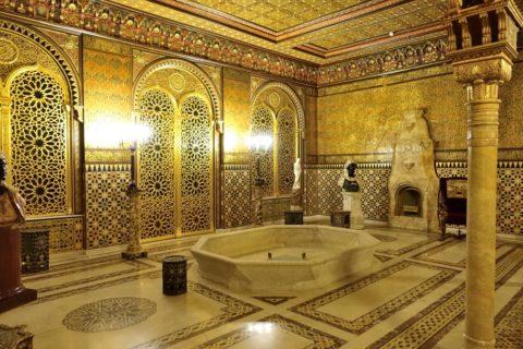 Yusupov-Palace/客間の噴水