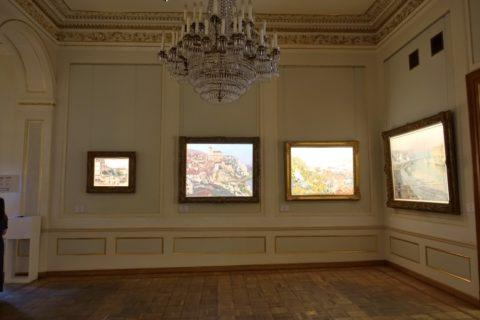 faberge-museum/絵画の展示方法