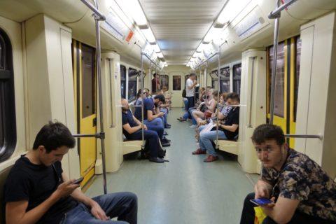 moscow-metro/車内
