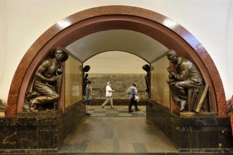 moscow-metro/銅像