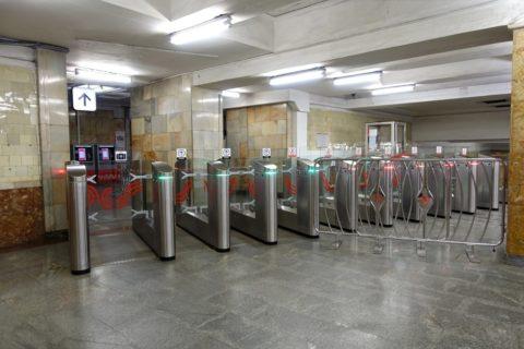 moscow-metro/改札出口