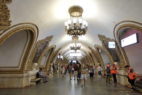 moscow-metro/美しい駅