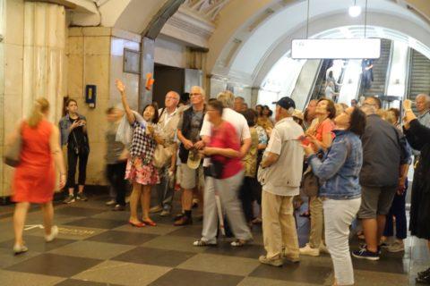 moscow-metro/団体客