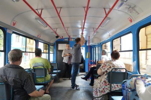 moscow-tram/車内