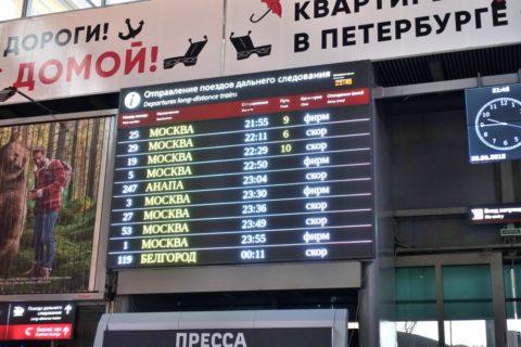 siberian-railway/モスクワ時間ではない