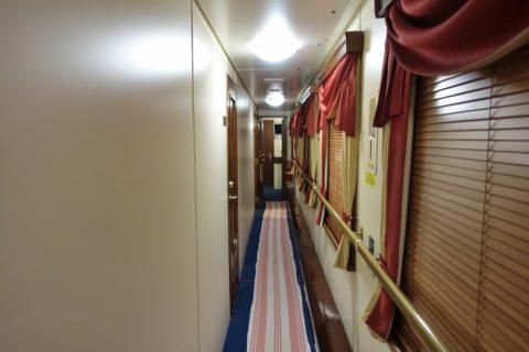 siberian-railway-express/1号車の廊下