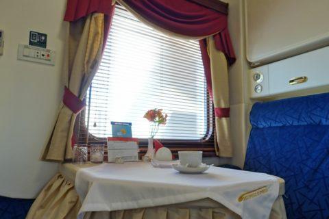 siberian-railway-express/リュークスのルームサービス