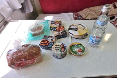 siberian-railway食料持ち込み
