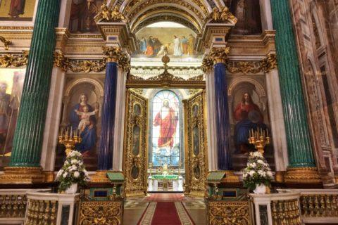 st-isaacs-cathedral/祭壇
