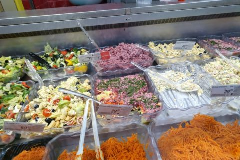 Yevropeyskiy/ニシンとビーツのサラダ