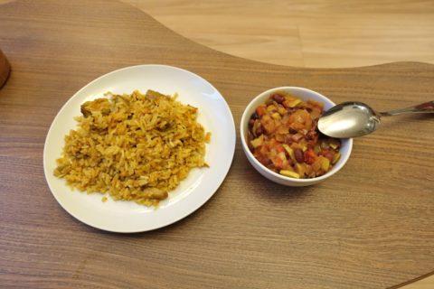 Yevropeyskiy/惣菜の味