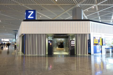 ANA成田空港Zカウンター