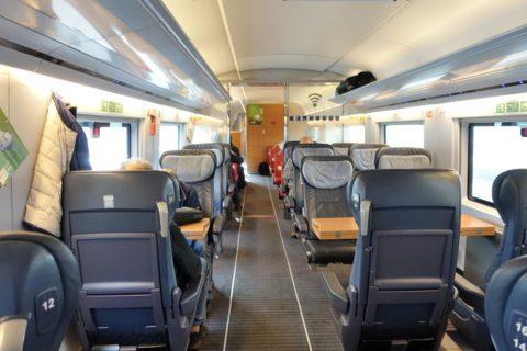 ICE-paris-frankfurt/1等車の座席配置