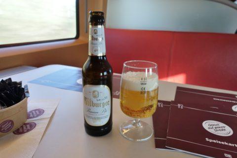 ICE-paris-frankfurt/ビール