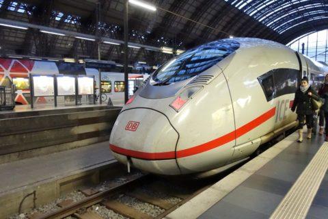 ICE-paris-frankfurt/到着ホーム