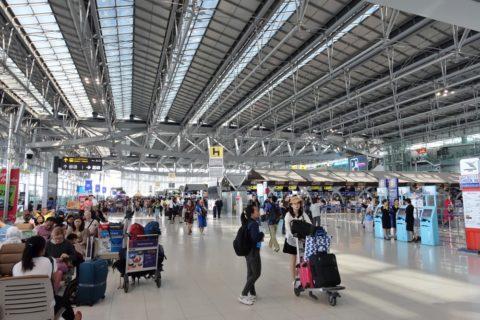 Suvarnabhumi-Airport/出発ロビー