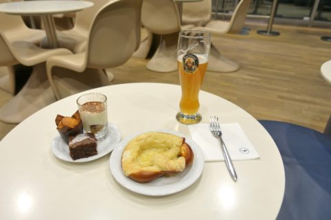 frankfurt-lufthansa-business-lounge/料理の味
