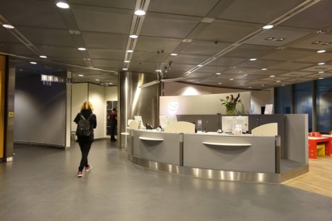 frankfurt-lufthansa-business-lounge/レセプション