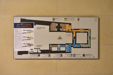 musee-du-louvre/館内MAP