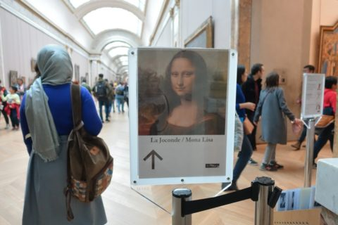 musee-du-louvre/モナリザの案内