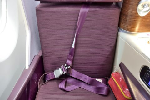 thai-airways-businessclass/シートベルト