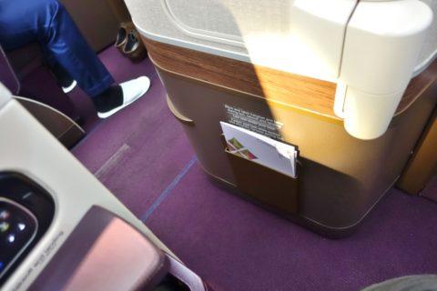 thai-airways-businessclass/シートポケット