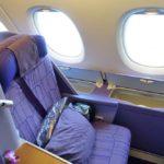 タイ国際航空A380ビジネスクラス搭乗レポ!シート&フルフラットベッド