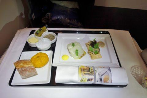 ANA-businessclass-欧米線の前菜