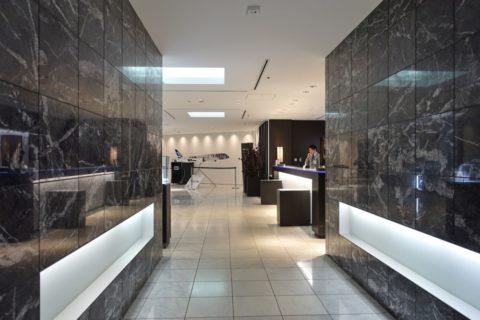 ANA-lounge-narita-satellite4/レセプションホールへのアプローチ