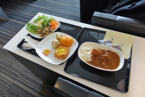 ANA-lounge-narita-satellite5/食事