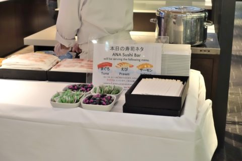 ANA-lounge-握り寿司の種類