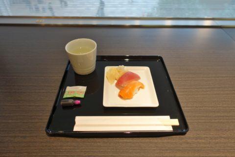 ANA-lounge-握り寿司
