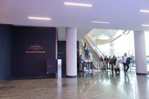 Istanbul-New-Airport/ビジネスラウンジ入口