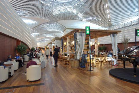 Istanbul-New-Airport/ラウンジの内装