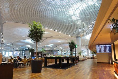 Istanbul-New-Airport/ターキッシュエアラインズラウンジ