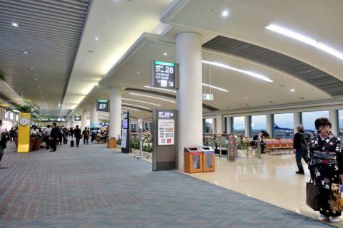 那覇空港28番搭乗口