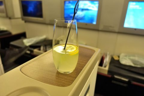 turkish-airlines-businessclass-b777/ウェルカムドリンク