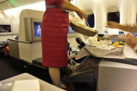 turkish-airlines-businessclass-b777/パンのセレクト