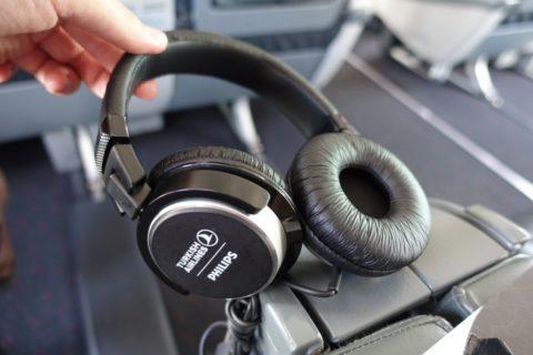 turkishairlines-b737-900-businessclass/ヘッドフォン