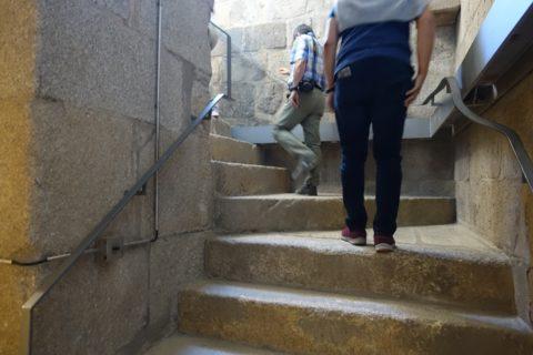 Catedral-do-Porto/タワーの階段