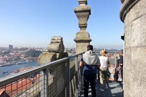Catedral-do-Porto/タワー上の回廊