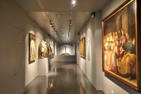 Igreja-de-Sao-Roque/宗教画の展示