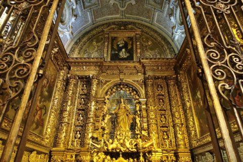 Igreja-de-Sao-Roque/聖母マリアの祭壇