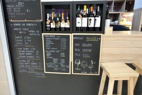 Mercado-do-Bolhao/Bolhao Wine House, de Hugo Silvaのメニュー
