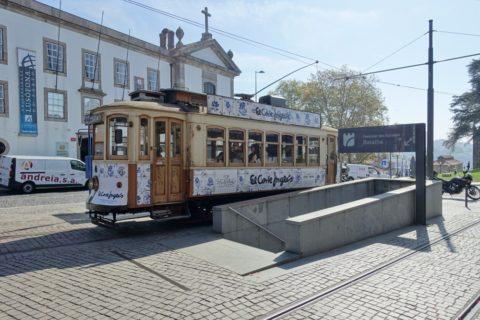 Porto-Funicular/路面電車の停留所