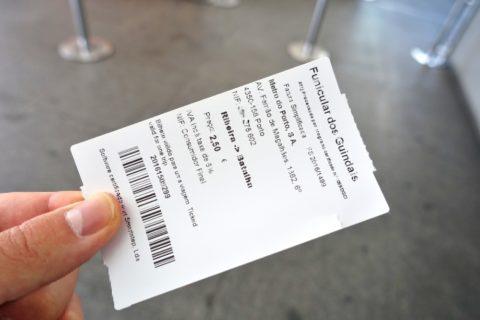 Porto-Funicular/チケット