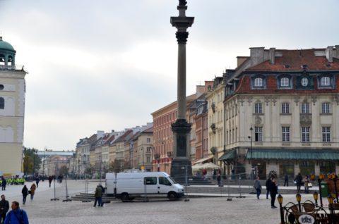 ワルシャワの街