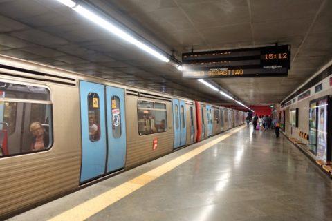 lisbon-metro/プラットホーム