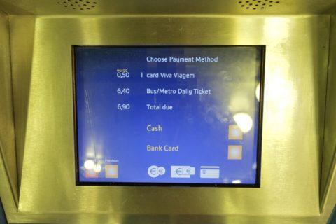 lisbon-metro/決済方法