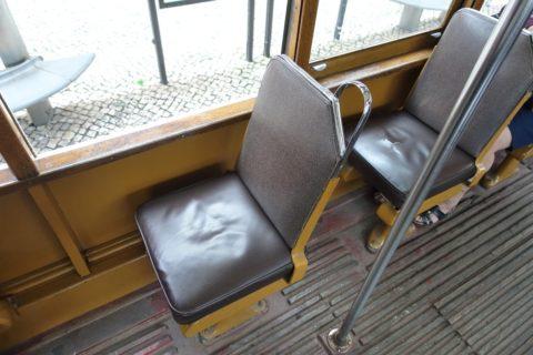 lisbon-tram/一人掛けシート
